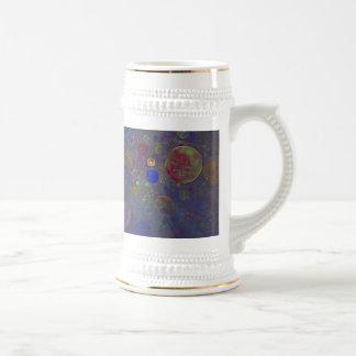 Alternate Universe Abstract Art Beer Steins