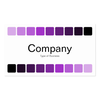 Alternating Shades 05 Pack Of Standard Business Cards