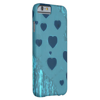 Alternative Blue Hearts Barely There iPhone 6 Case