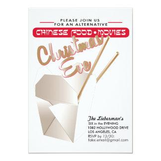 Alternative Christmas Eve 13 Cm X 18 Cm Invitation Card
