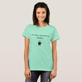 Alternative Energy Coffee Lover Tee Shirt