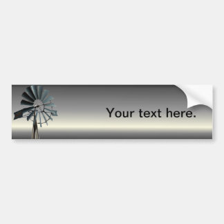 Alternative Energy - Pinwheel Windmill Power Bumper Sticker