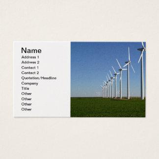 Alternative Energy - The Green Power Business Card