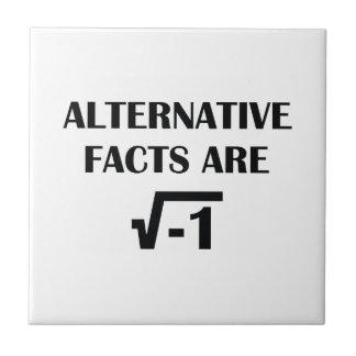 Alternative Facts Ceramic Tile