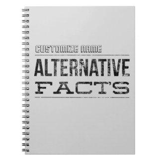 Alternative Facts - Customizable Spiral Notebook