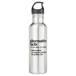 Alternative Facts Definition 710 Ml Water Bottle
