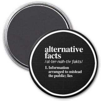 Alternative Facts Definition 7.5 Cm Round Magnet