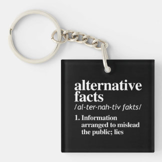 Alternative Facts Definition Key Ring