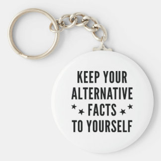 Alternative Facts Key Ring