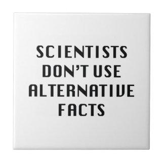 Alternative Facts Small Square Tile