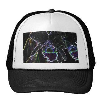 alternative flower trucker hat