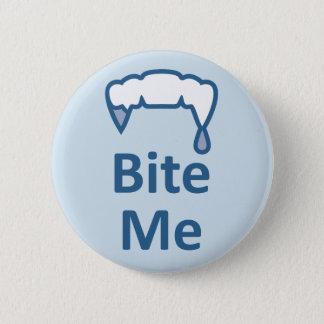 Alternative Gothic Emo facebook BITE ME badge