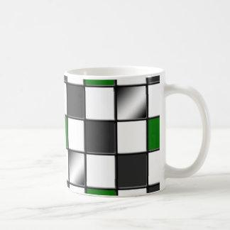 Alternative Green Checkered mug
