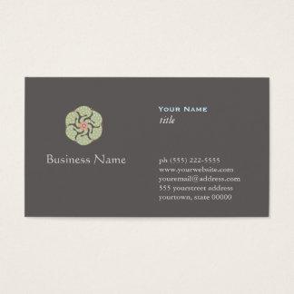 Alternative Medicine Holistic Health Business Card