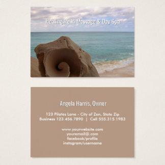 Alternative Medicine Reiki | Holistic Health Beach Business Card