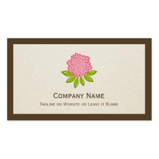 Alternative Medicine - Simple Elegant Lotus Logo Business Cards