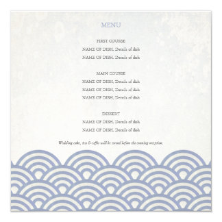 Alternative  Menu Card