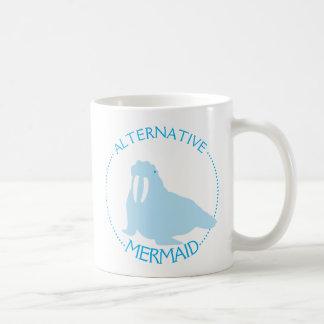 Alternative Mermaid Walrus Coffee Mug