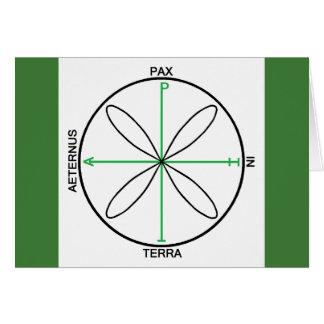 Alternative Peace Symbol Card