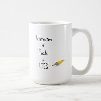 Alternative Plus Facts Equals Lying Mug
