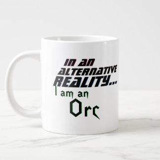 Alternative Reality Me Orc Large Coffee Mug