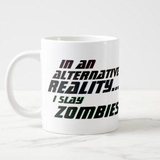 Alternative Reality Zombie Slayer RPG Large Coffee Mug