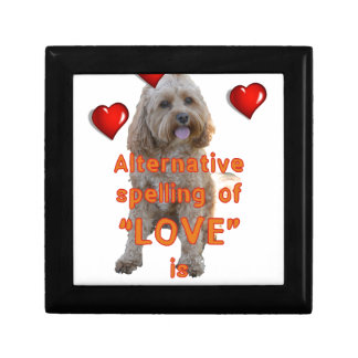 alternative spelling of LOVE is CAVOODLE Gift Box