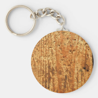 altes holz, very old wood basic round button key ring