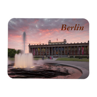 Altes Museum and Lustgarten in Berlin Rectangular Photo Magnet