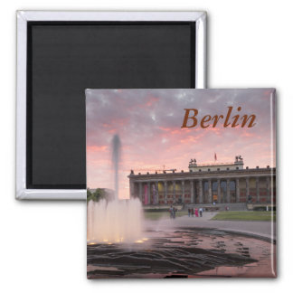 Altes Museum and Lustgarten in Berlin Square Magnet