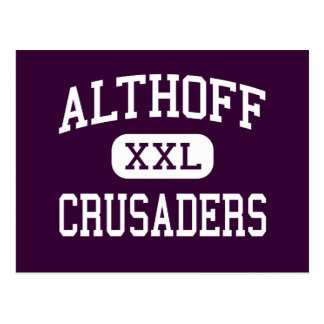 Althoff - Crusaders - Catholic - Belleville Postcard