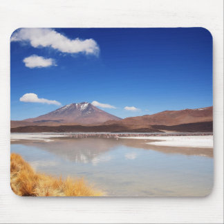 Altiplano landscape with volcano in Bolivia Mouse Pad