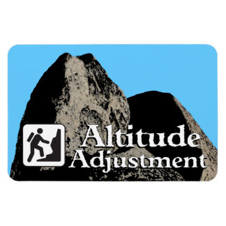 Altitiude Adjustment - Hiker Magnet