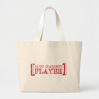 Alto Clarinet  Player Tote Bag