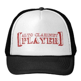 Alto Clarinet  Player Cap