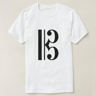 Alto Clef / C-Clef Tee Shirt