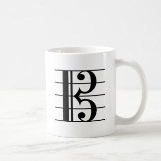 Alto Clef Coffee Mug