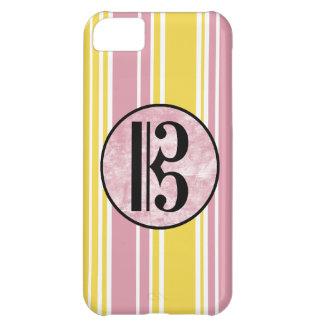 Alto Clef Stripes iPhone 5C Case