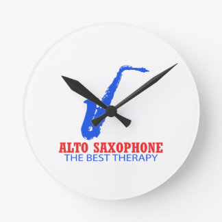 Alto saxophone Musical designs Wall Clocks