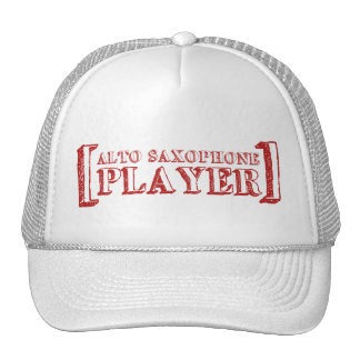 Alto Saxophone Player Trucker Hat