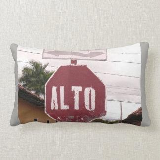 Alto - Stop - Road Sign Lumbar Cushion