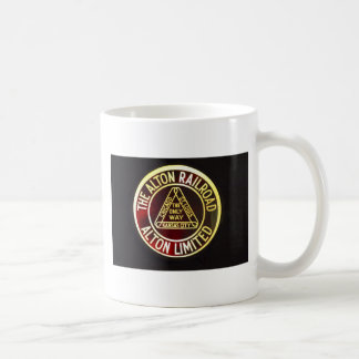 Alton Railroad Sign Mug