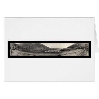 Altoona PA Horseshoe Curve RR Photo 1934 Card