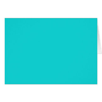 Altruistically Invaluable Turquoise Blue Color Card