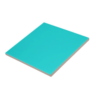 Altruistically Invaluable Turquoise Blue Color Ceramic Tile