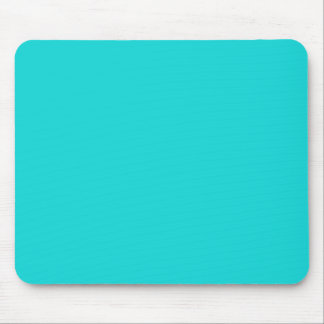 Altruistically Invaluable Turquoise Blue Color Mouse Pad