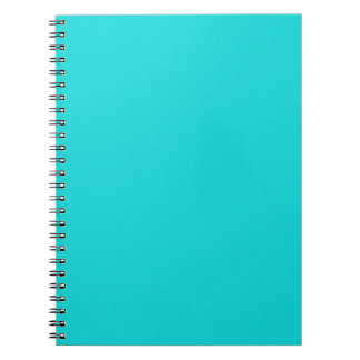 Altruistically Invaluable Turquoise Blue Color Notebooks