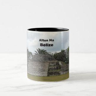 Altun Ha, Belize Two-Tone Coffee Mug