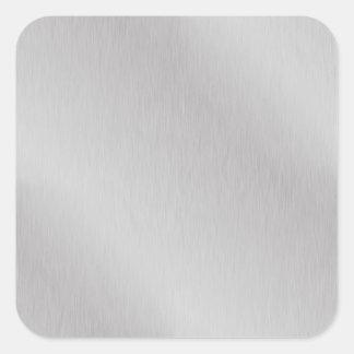 aluminium #2 square sticker