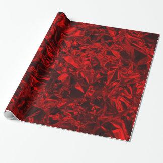 Aluminium Foil Design in Red